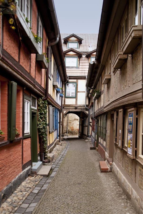 Quedlinburg immagini stock
