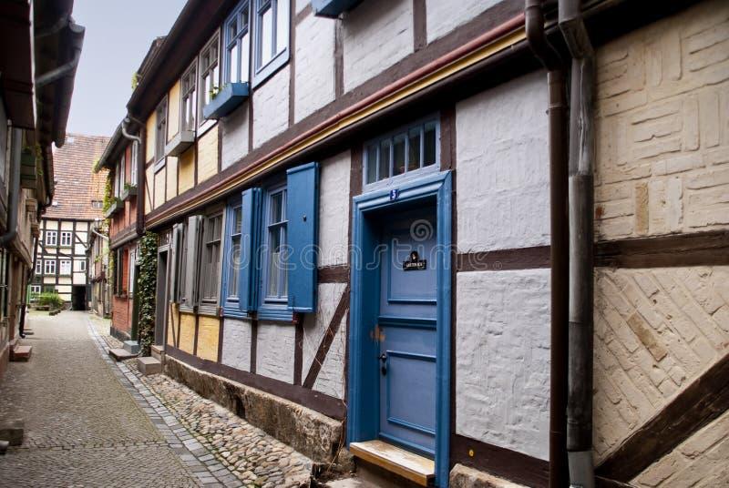 Quedlinburg immagine stock libera da diritti