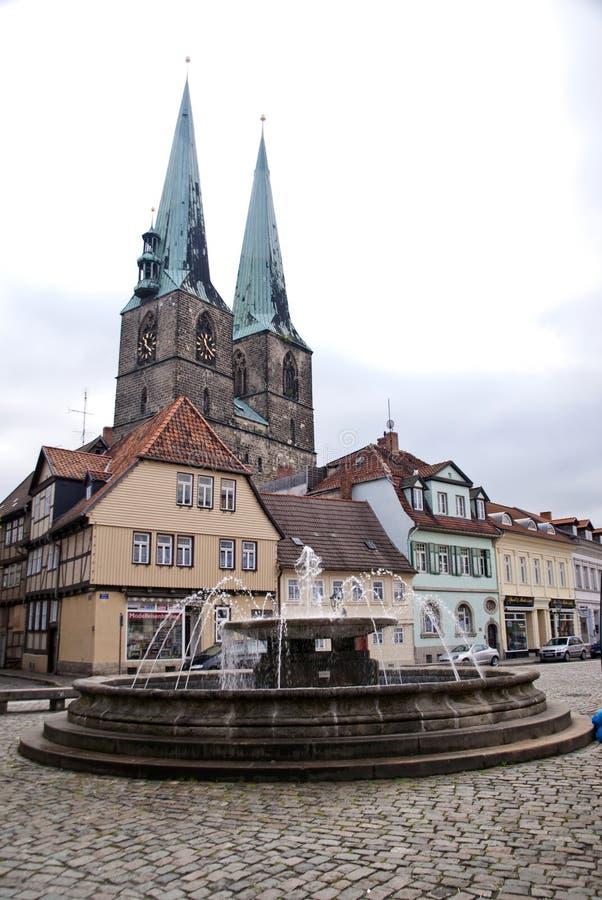 Quedlinburg, Deutschland stockbilder