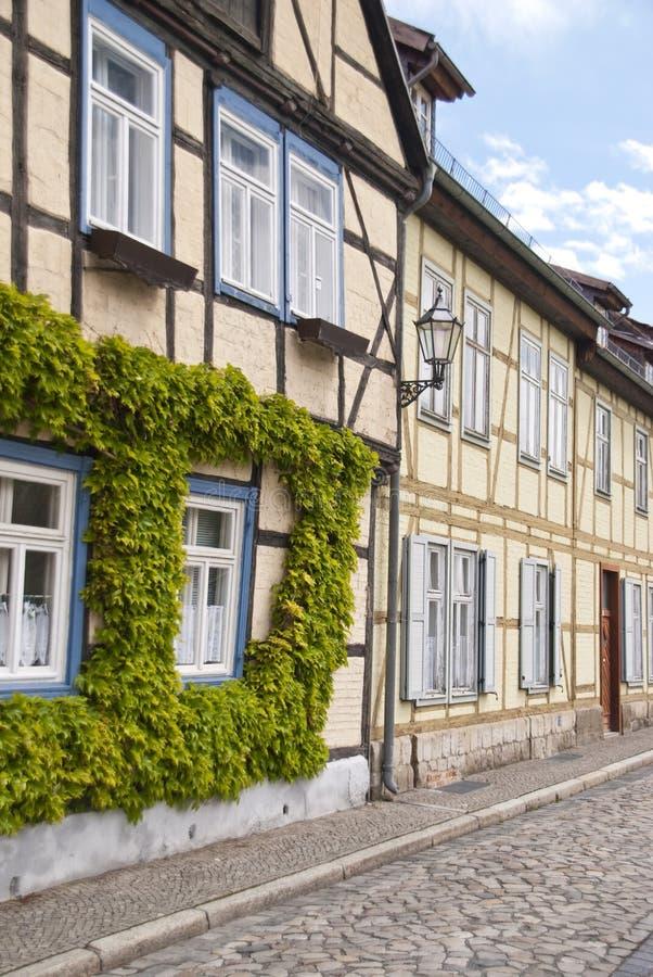 Quedlinburg, Deutschland lizenzfreie stockfotos