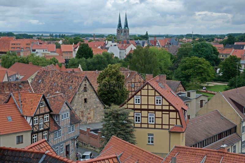 Quedlinburg, Germania immagini stock libere da diritti