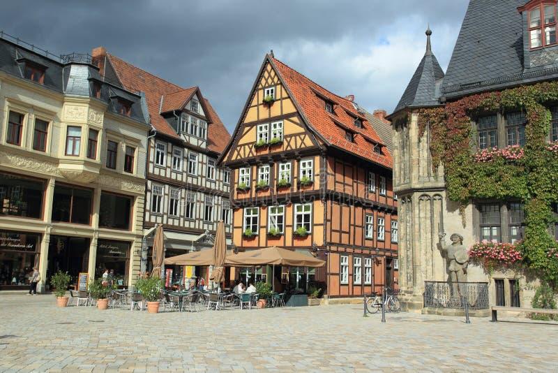 Quedlinburg histórico imagem de stock royalty free