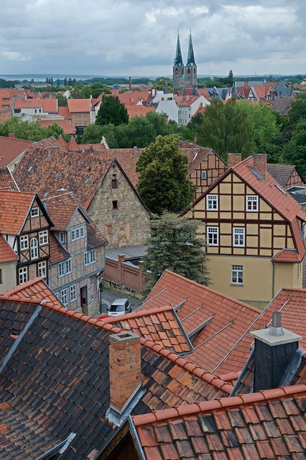 Quedlinburg, Niemcy zdjęcia stock