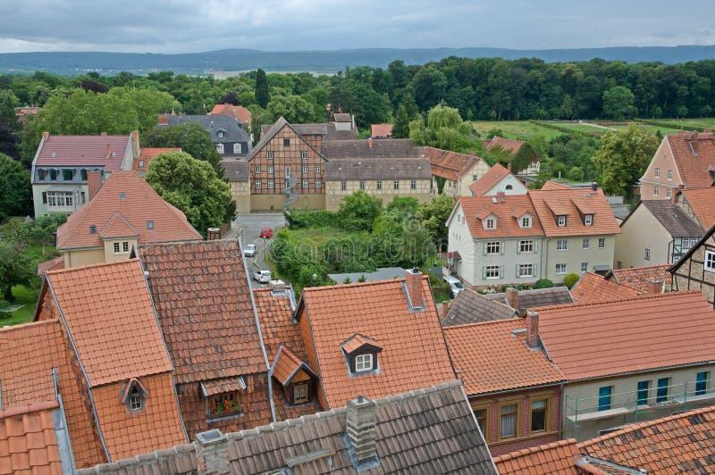 Quedlinburg, Niemcy fotografia stock