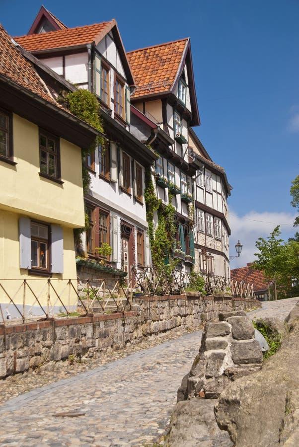 Quedlinburg Tyskland royaltyfri bild