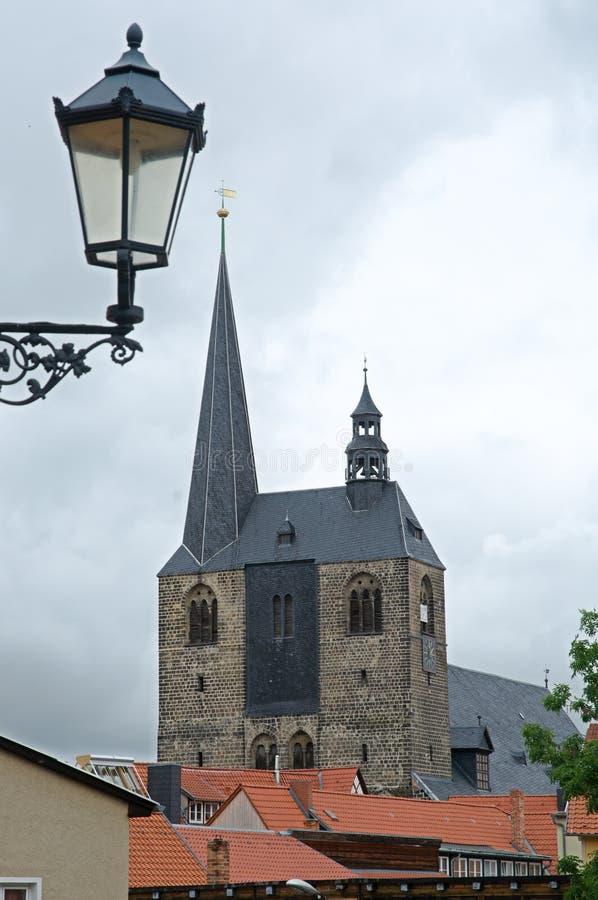Quedlinburg Tyskland arkivfoto
