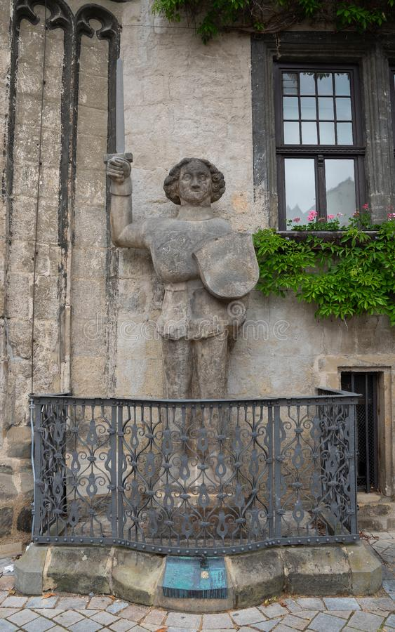 Quedlinburg Tyskland, Europa royaltyfri foto