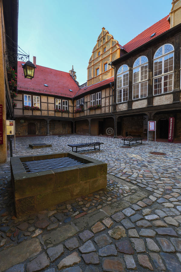 Quedlinburg stock photography