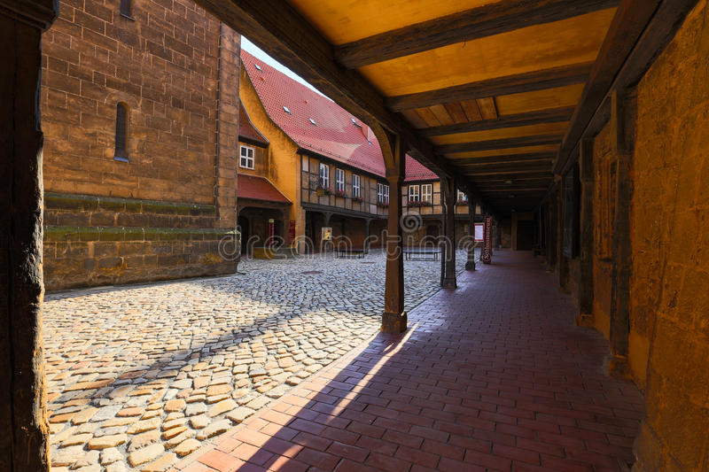 Quedlinburg royalty free stock images