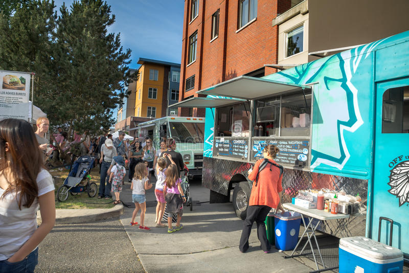 Seattle Food Trucks Queen Anne