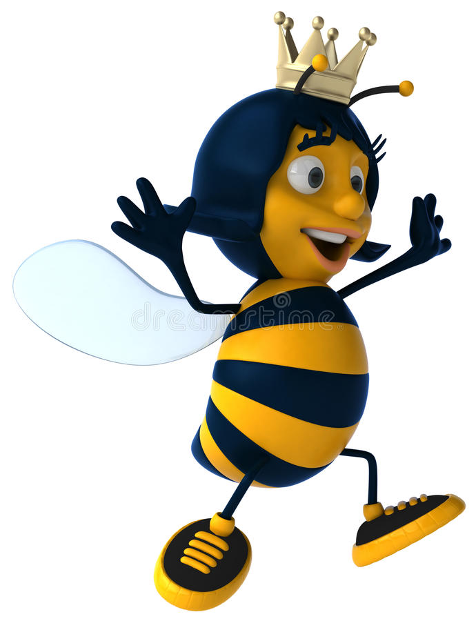 Queen Bee royalty free illustration