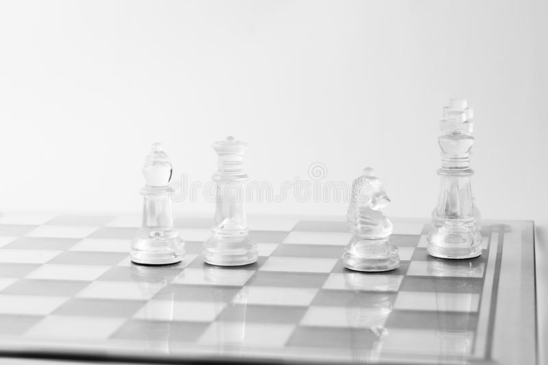 Download Queen, Bishops And The Horse Give Checkmate Stock Photo - Image: 24647954