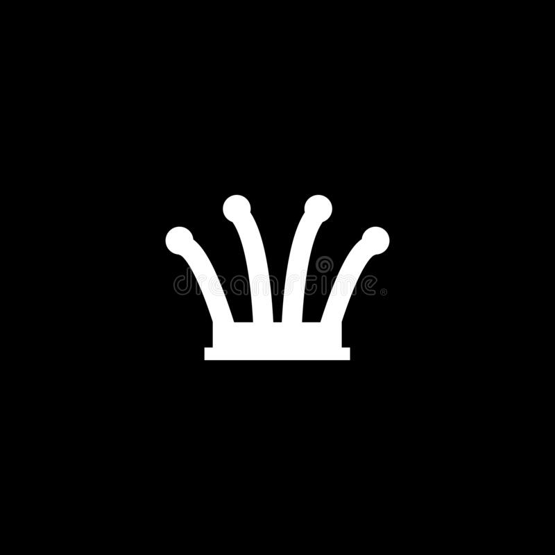 Free Queen Chess Piece Logo. Text Can Be Added In Edit Menu. Vector Eps.10 Stock Photos - 182913463