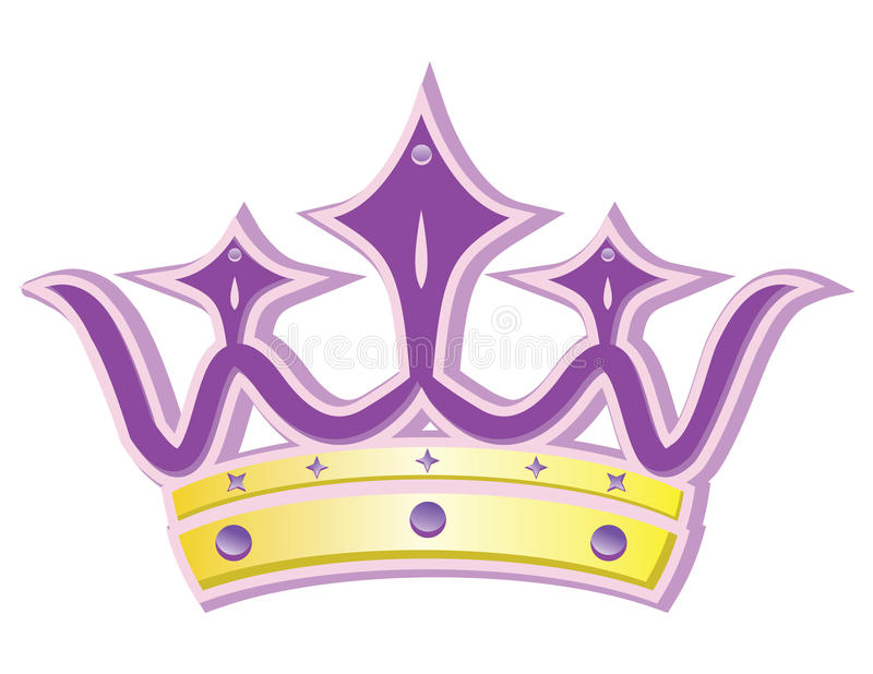 Queen crown vector illustration