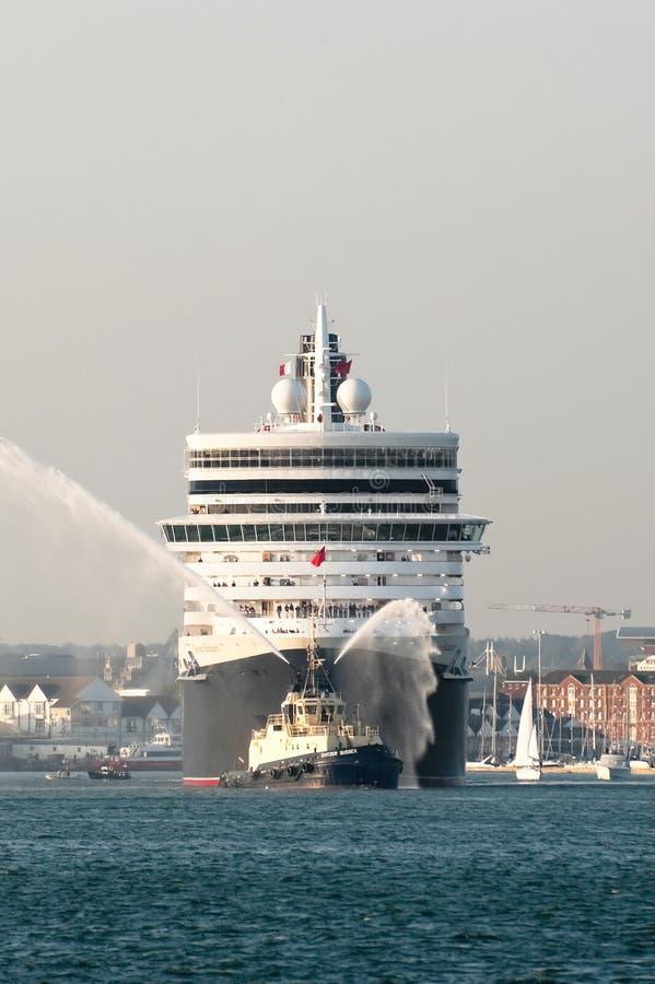 Download Queen Elizabeth editorial stock photo. Image of sail - 16501603