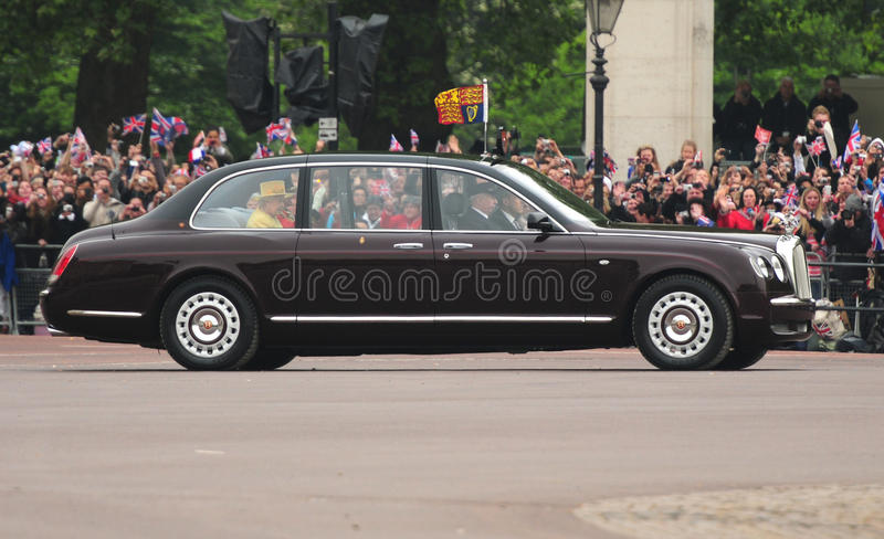 Queen Elizabeth II royalty free stock photography