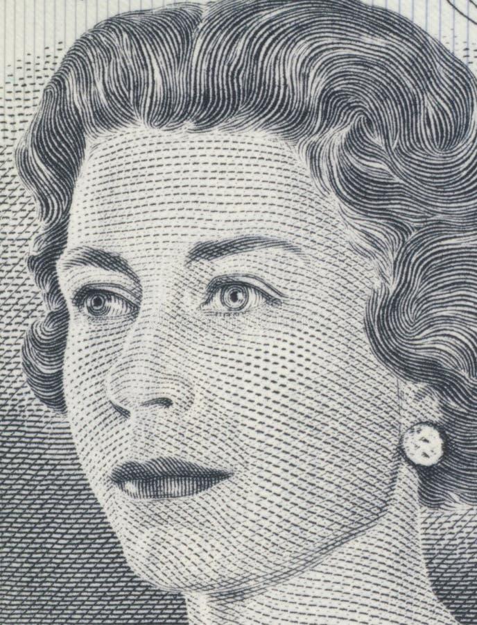 Download Queen Elizabeth II stock image. Image of finance, bank - 3480901
