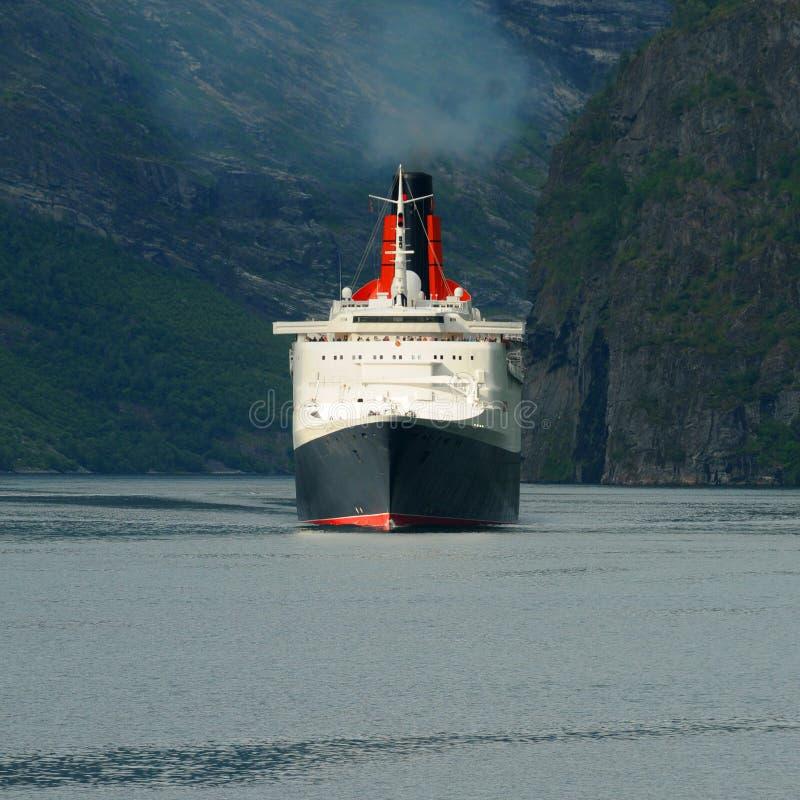 Queen Elizabeth II Ship Royalty Free Stock Photo