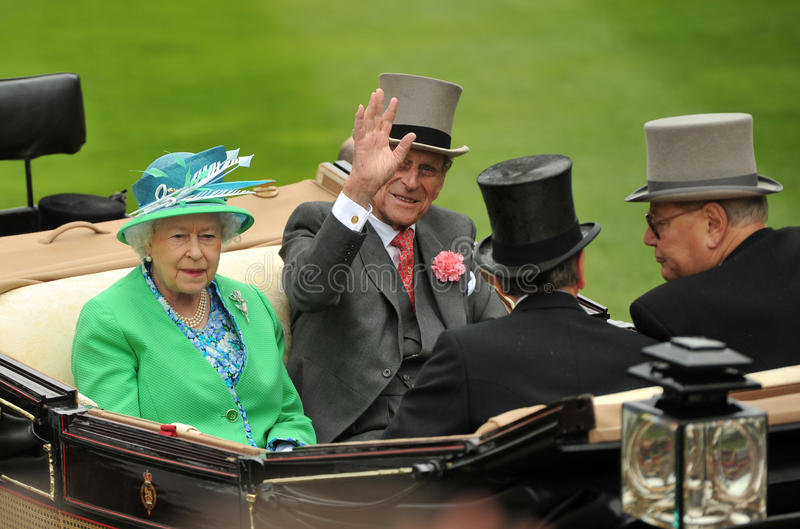 Queen of England royalty free stock images