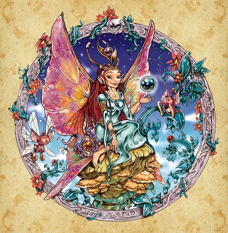 Queen fairy stock photos