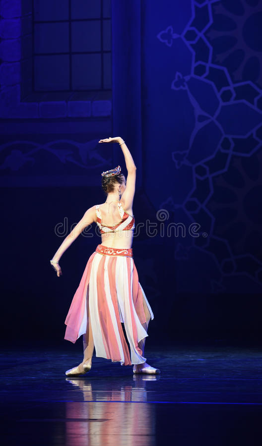 """Queen Figure- ballet """"One Thousand and One Nights"""" royalty free stock photo"""
