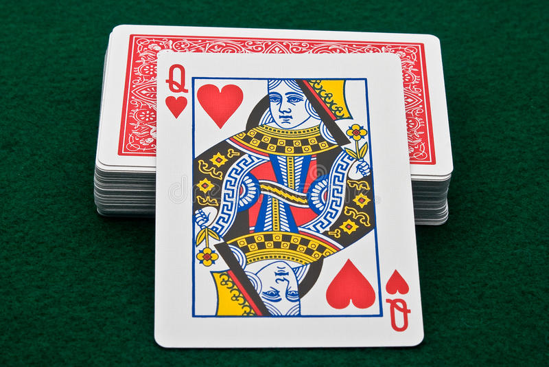 Download Queen of Hearts stock image. Image of chips, gamble, gaming - 10799673