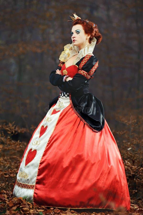 The Queen of Hearts stock photos