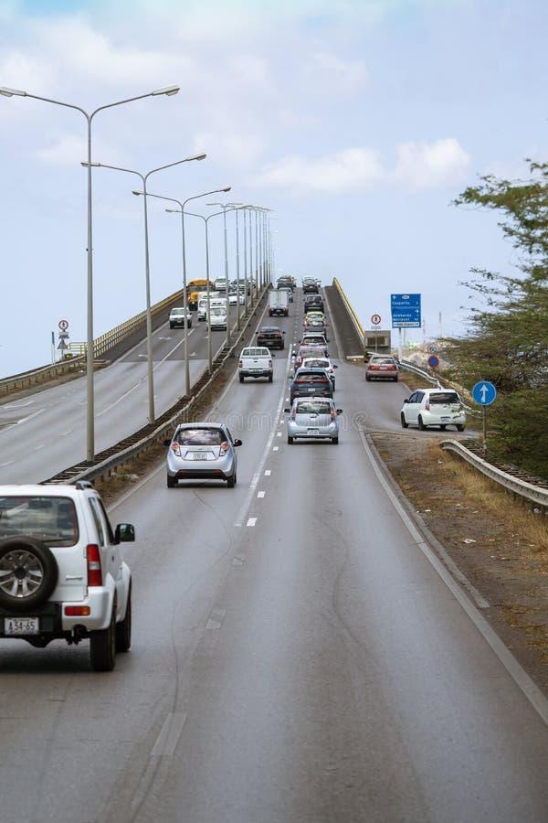 Queen Juliana Bridge lizenzfreies stockbild