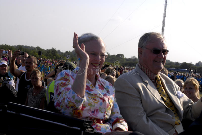 Download QUEEN MARGRETHE AND PRINCE HENRIK Editorial Stock Image - Image of jyderup, lars: 10078804