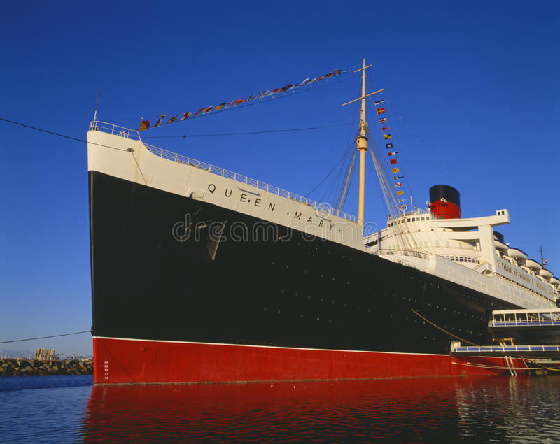Download Queen Mary editorial image. Image of angeles, outdoors - 23177655
