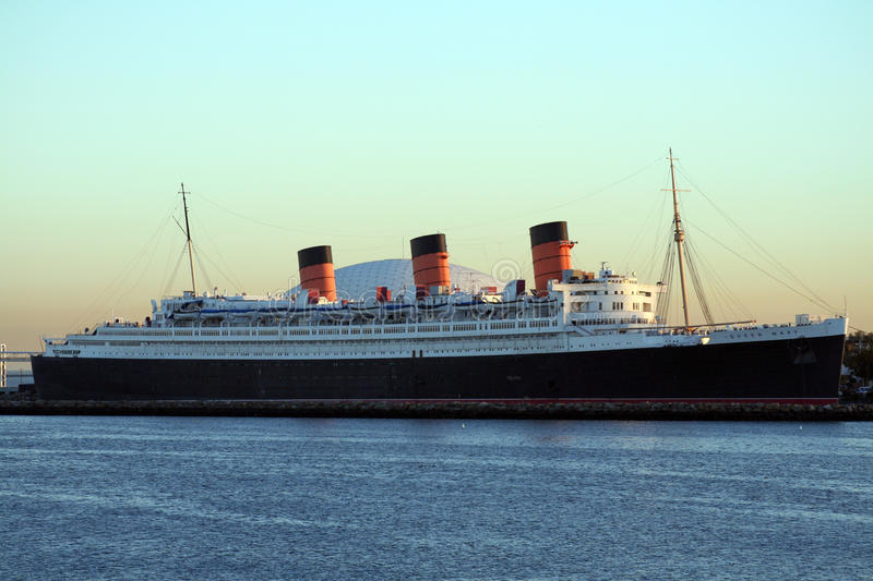 Queen Mary royalty free stock photo