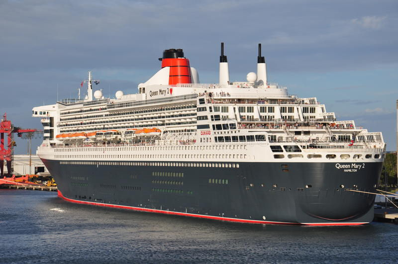 Queen Mary 2 arkivfoto