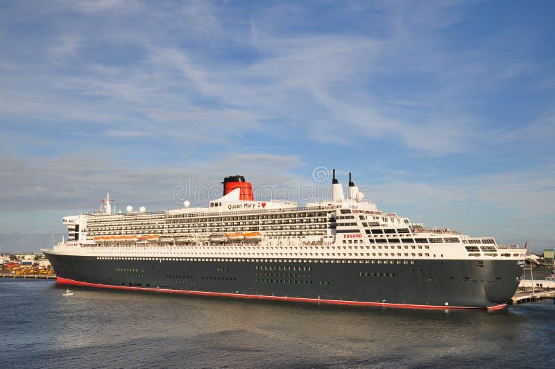Queen Mary 2 fotografia de stock royalty free