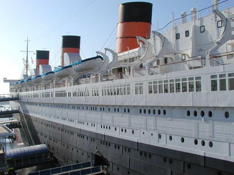 Queen Mary 3 stock photo