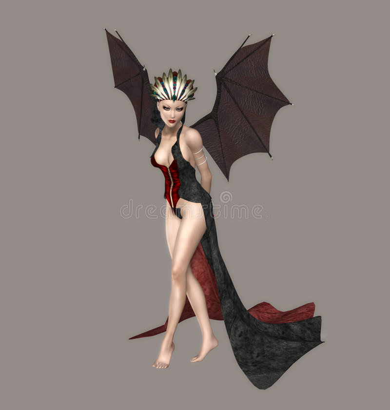 Free Queen Of Darkness Royalty Free Stock Photos - 5296738