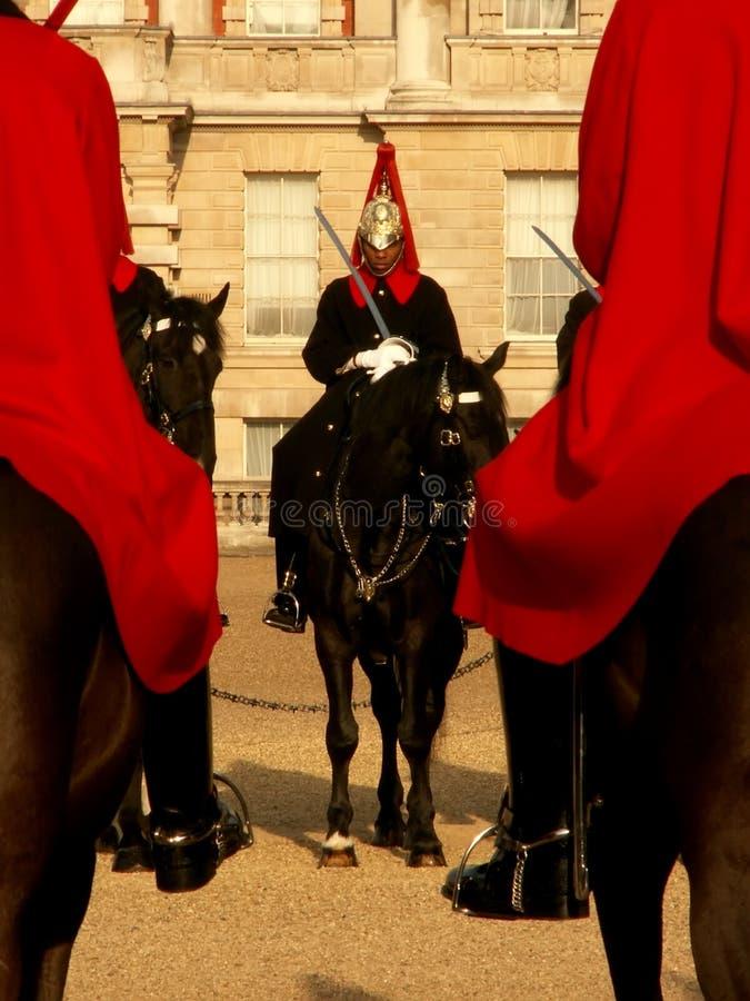 The Queen's Guard stock photos