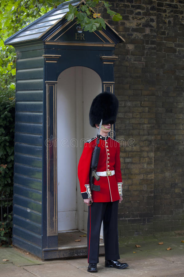Queen s Guard on Duty