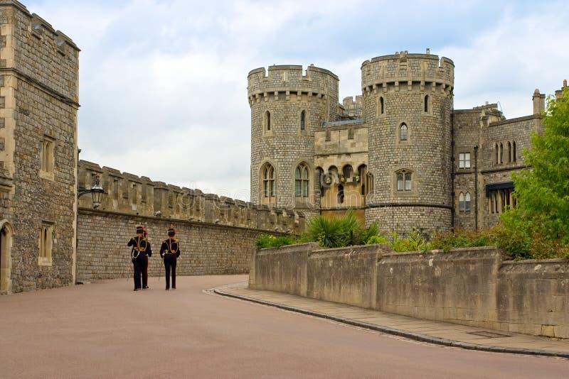 Download Queen's Guard Soldiers In Windsor Castle, UK Stock Image - Image: 17659303