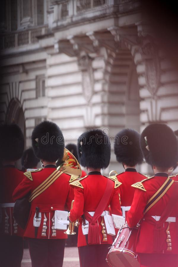 Queen`s Guard of United Kingdom royalty free stock photography