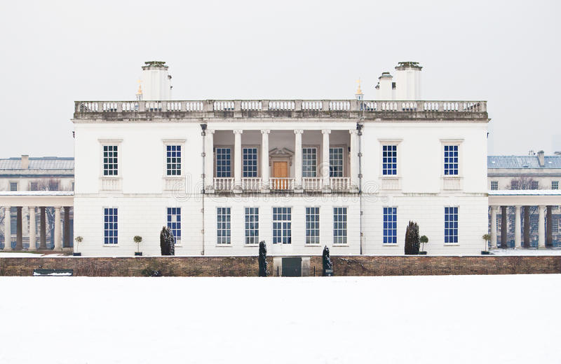 Download Queen's House In Greenwich In A Cold Winter Day Stock Photo - Image of building, museum: 12537190