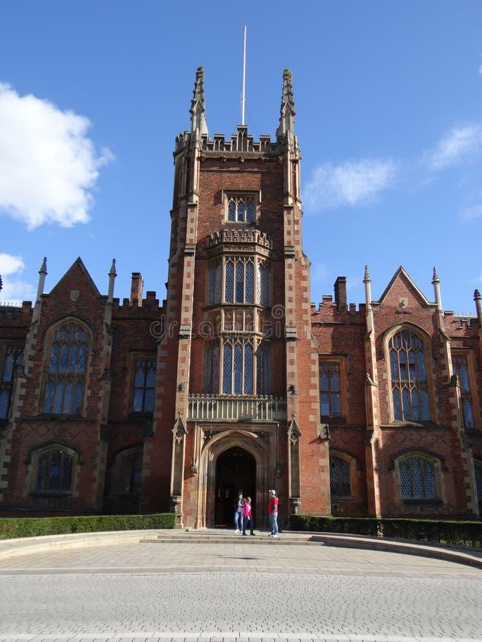 Queen' s Universitair Belfast royalty-vrije stock afbeeldingen