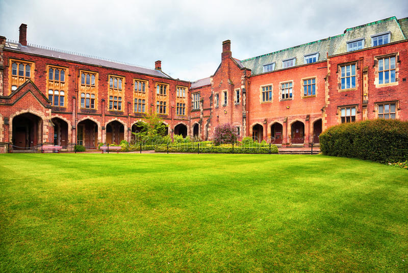 Queen's University of Belfast royalty free stock photography