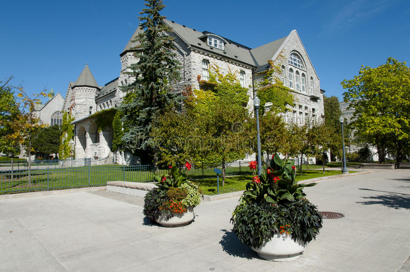 Queen`s University - Kingston - Canada. Queen`s University in Kingston - Canada stock photography