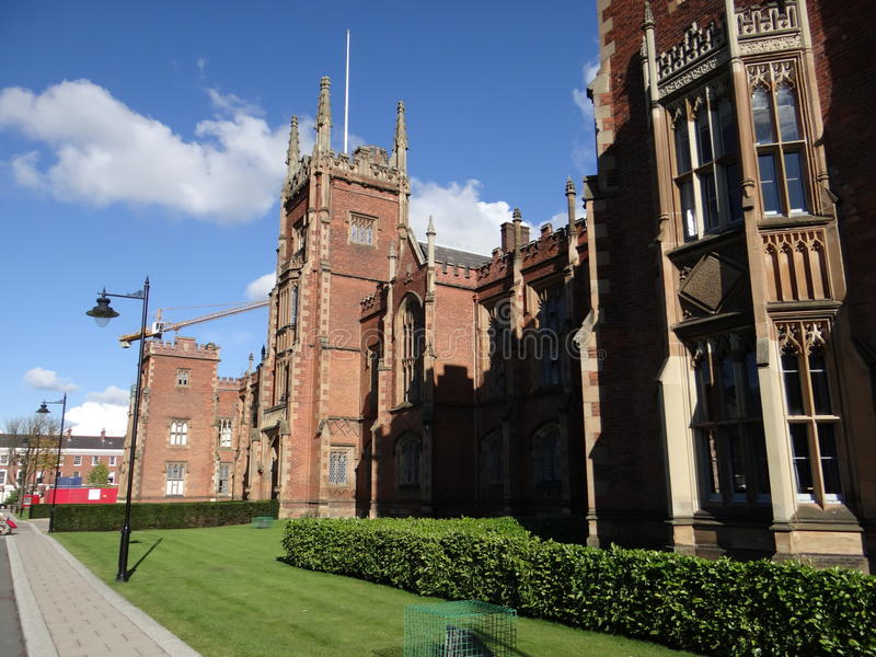 Queen&-x27; s uniwersytet Belfast zdjęcie royalty free
