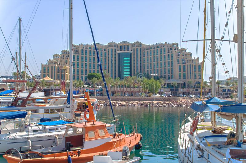 Queen of Sheba Eilat, Antibes Street, Eilat, Israel. royalty free stock images