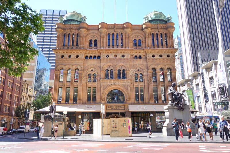 Queen Victoria Building (QVB) in Sydney. stock photos