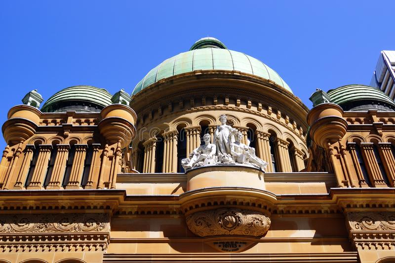 Queen Victoria Building, Sydney, Australia royalty free stock photography