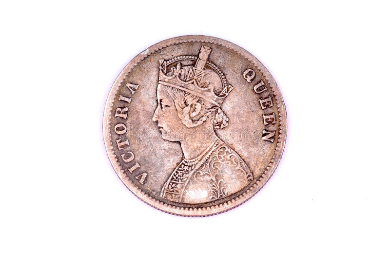 Queen Victoria Coin Royalty Free Stock Images