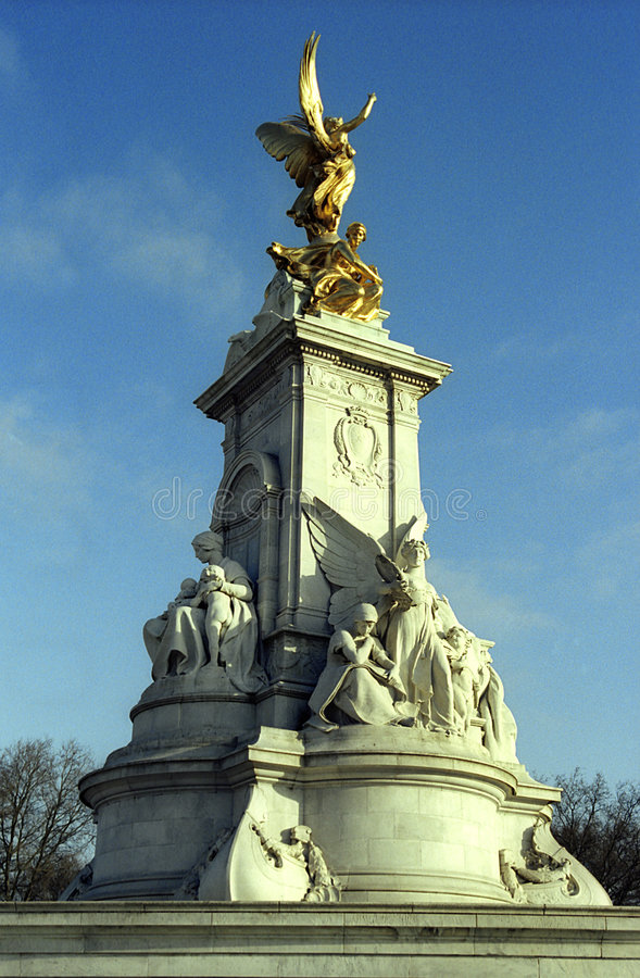 Download Queen Victoria Memorial stock image. Image of sculpture - 955605