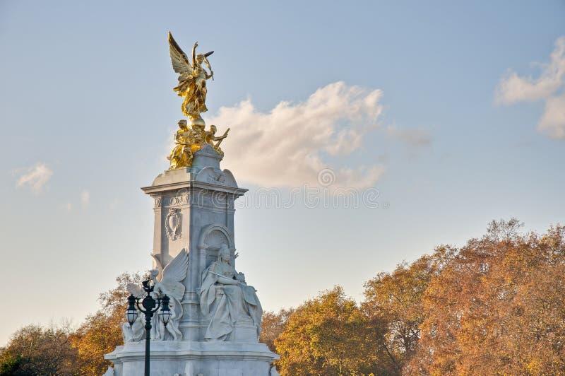 Queen Victoria Memorial At London, England Stock Photo